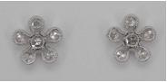 Rose Cut Earrings