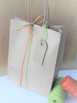 Recycled Kraft Gift Bags