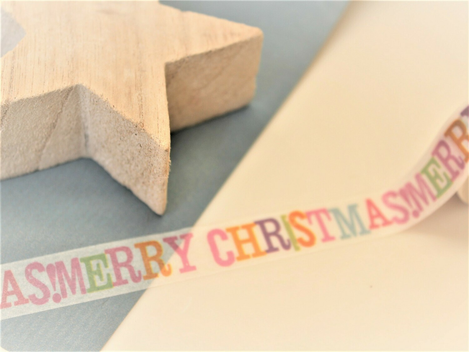 Merry Christmas Paper Tape
