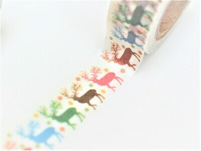 Standing Stags Paper Tape