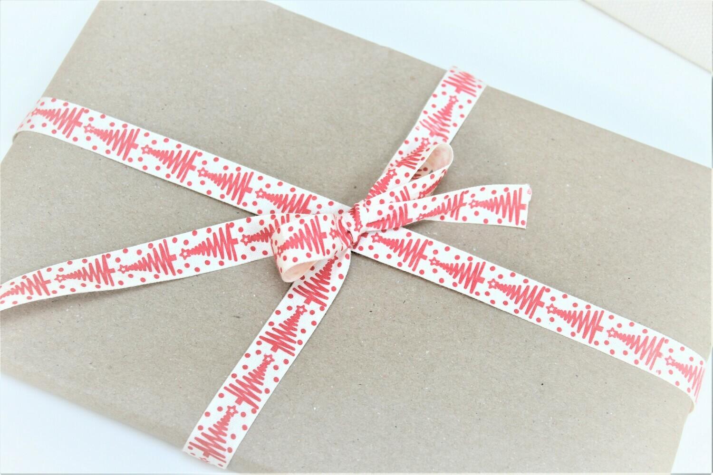 ZigZag Christmas Tree Cotton Ribbon