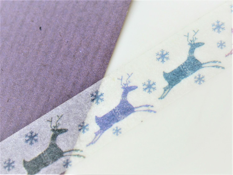 Running Reindeer Paper Tape