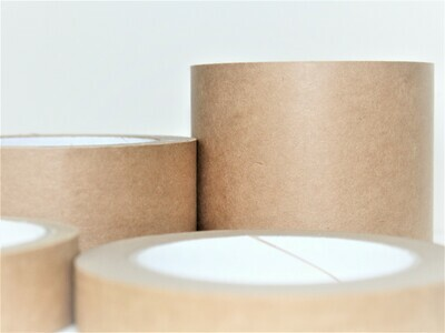 75mm Brown Self Adhesive Paper Tape