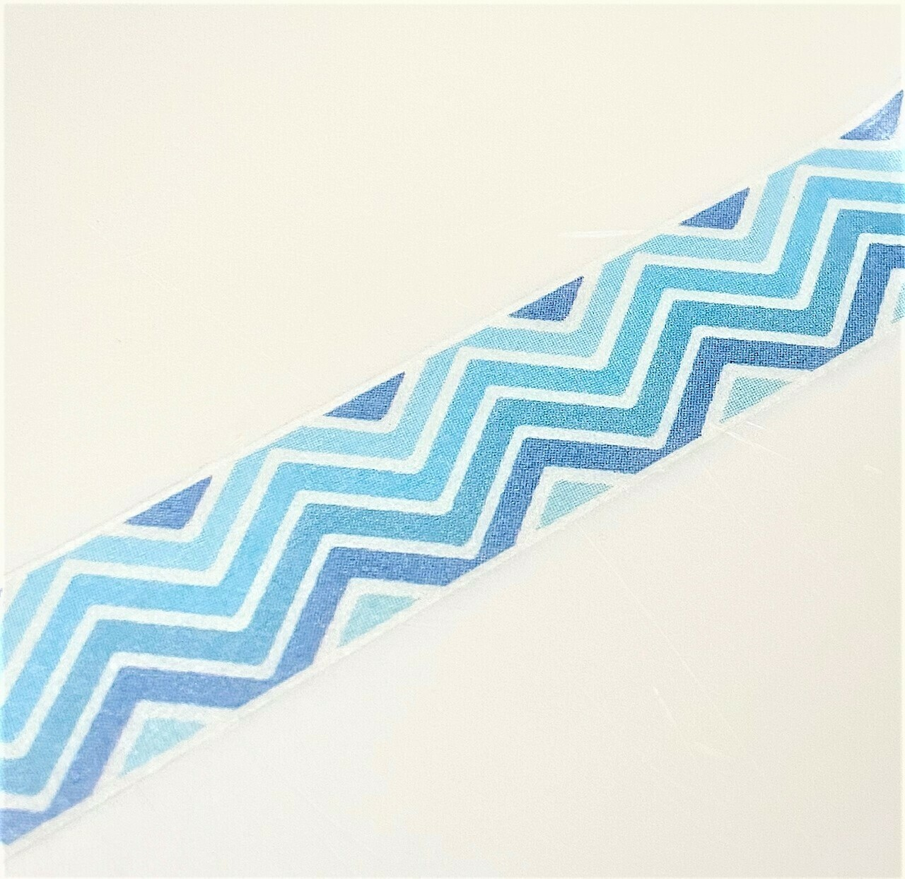 Blue Zigzag Washi Tape 15mm