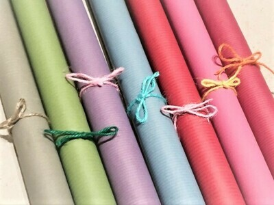 Coloured Recycled Kraft Paper