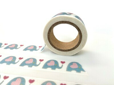 Forget Me Not Rice Paper Tape