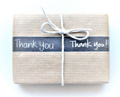 Thank you! Rice Paper Tape