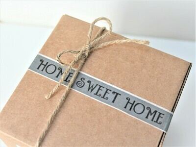 Home Sweet Home Rice Paper Tape