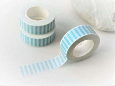 Blue Stripe Washi Tape 15mm