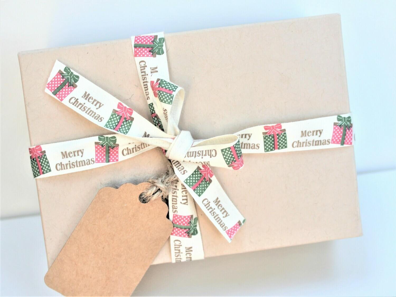 Christmas Presents Cotton Ribbon