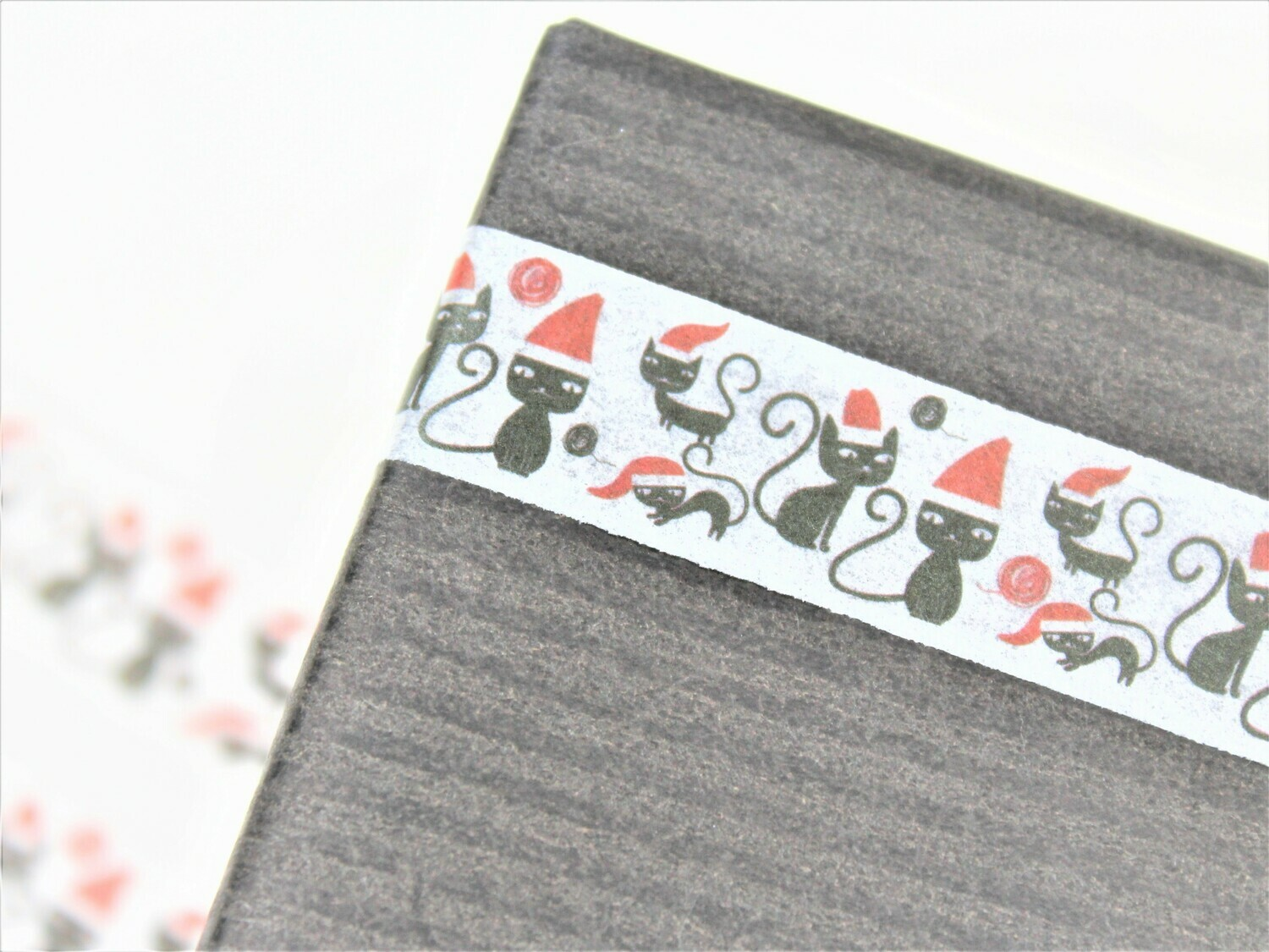 Christmas Cats Rice Paper Tape