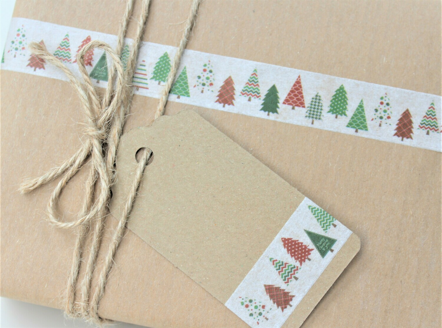 Winter Firs Rice Paper Tape