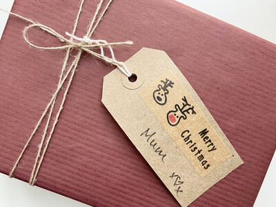 Large Recycled Kraft Tags (10 pack)