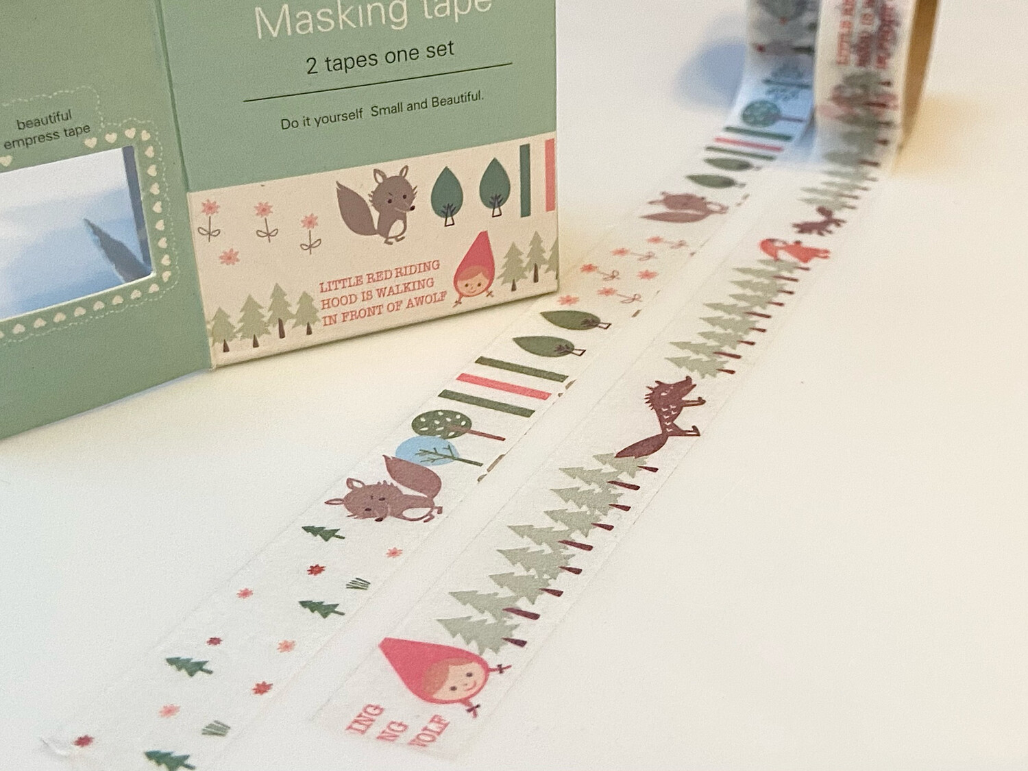 Red Riding Hood Paper Tape