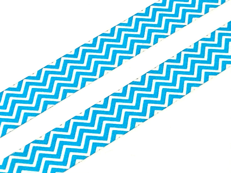 Blue Zigzag Washi Tape 15mm
