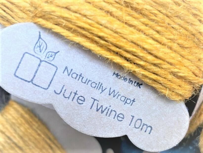 10 pk Jute Twine - Bright Colours