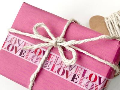 LOVE LOVE Paper Tape 15mm
