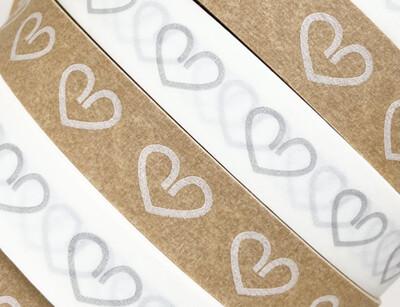Big Heart Paper Tape 18mm