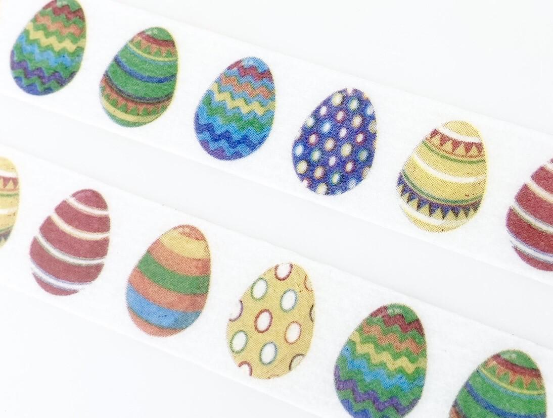 Easter Eggs Paper Tape 15mm