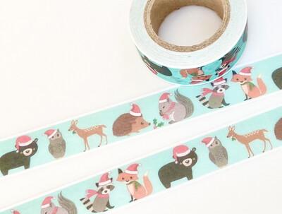 Santa Paws Paper Tape
