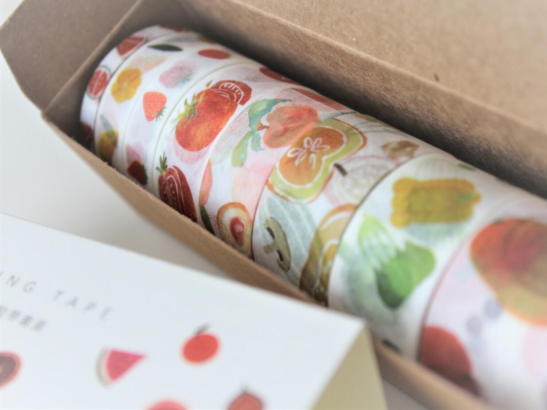 WONKY Fruits Masking Tape Set