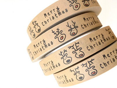 Rudolf & Friends Paper Tape