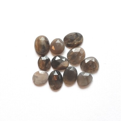 African Sunstone Rosecuts