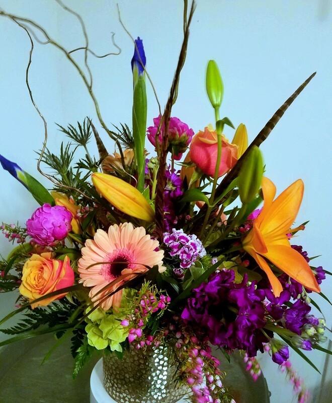 Vibrant Surprise Bouquet