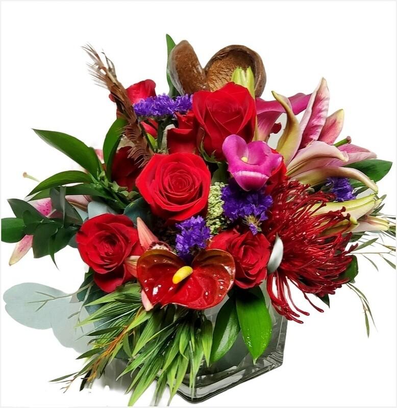Exotic Valentine Bouquet