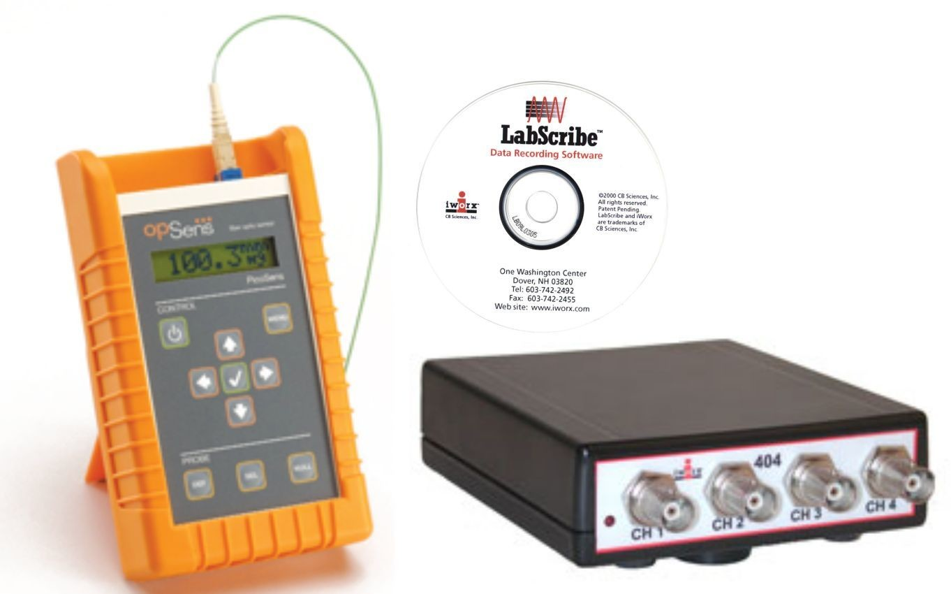 1 Ch. BP System include IX-404 Recorder LabScribe Software, BP analysis, 2x 1f catheter