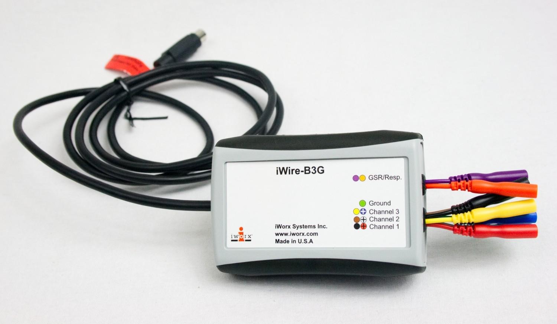 Isolated ECG/EMG/EEG/GSR iWire Recording Module