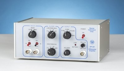 Warner DP-301 single channel AC/DC differential pre-amplifier