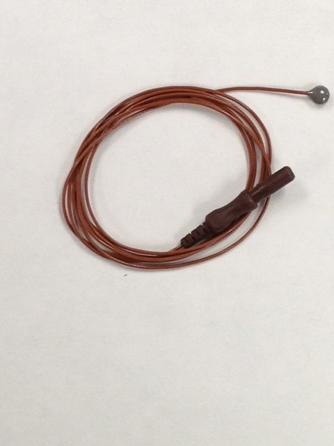 Reusable Button EEG Elect. Ag/AgCl (4mm)