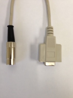 Cable to connect Biopac transducers with DB9 connector to iWorx DIN8
