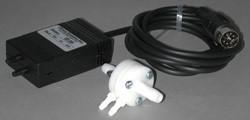 Spirometer with reuseable 10 Liter flow head