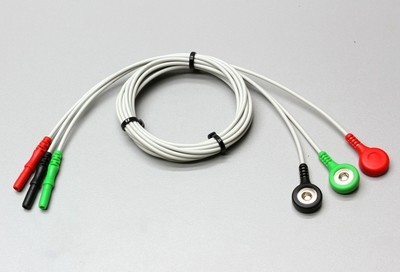 Set of Three Safety to Snap Leads for C-ISO-255 and C-ISO-104