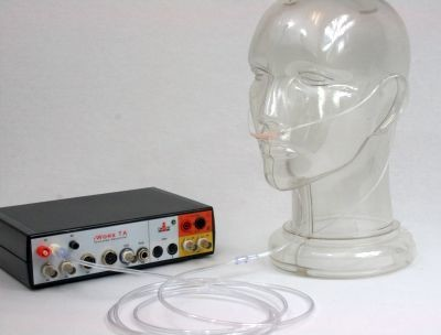 Respiration monitor using a nasal cannula for the IX-TA-220. case of 100
