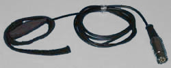 Respiration Monitor (piezo crystal) fwith DIN Connector (Animal)