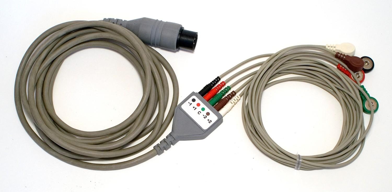 Recording Cable - ECG/EEG/EMG