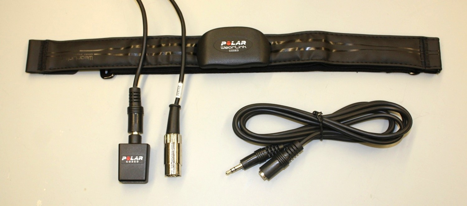 Polar(R)Heart Rate Monitor Trans./Receiver with DIN connector