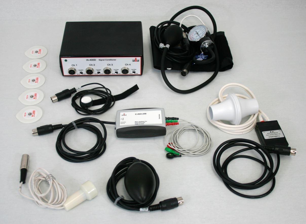 Nat'l. Inst. NI DAQ v7.0 Compatible Human Physiology Kit