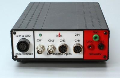 iWorx/214 Four Channel 16 bit, 100 kHz Data Acquisition System