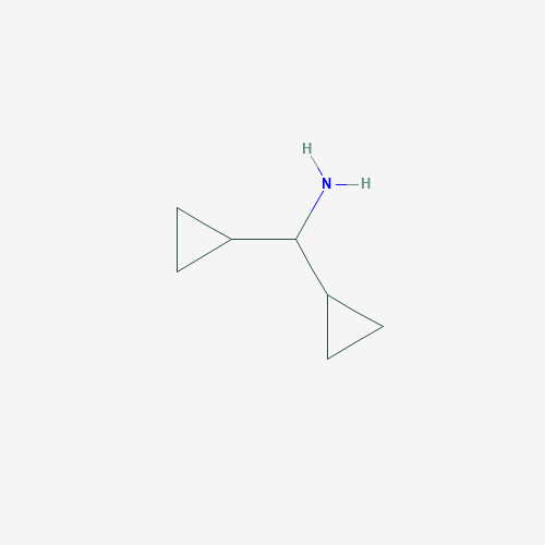 Dicyclopropylmethanamine - 13375-29-6 - Dicyclopropyl methyl amine - C7H13N