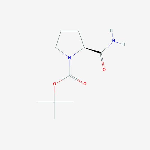 1-BOC-L-Prolinamide - 35150-07-3 - boc-pro-nh2 - C10H18N2O3