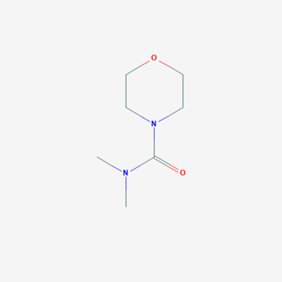 N,N-Dimethyl-4-morpholine carboxamide - 38952-61-3 - 4-dimethylcarbamoylmorpholine - C7H14N2O2