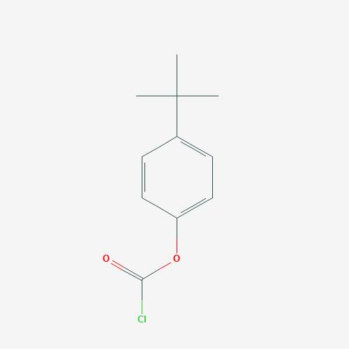 4-t-butyl phenoxy acetyl chloride - 33129-84-9 - Carbonochloridic acid, 4-(1,1-dimethylethyl)phenyl ester - C11H13ClO2
