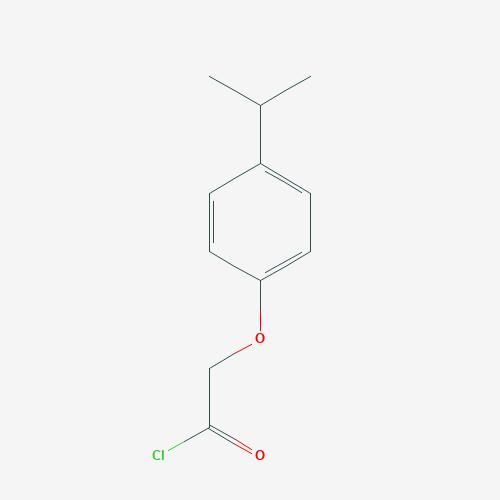 4-Isopropyl phenoxy acetyl chloride - 223128-33-4 - 2-(4-isopropylphenoxy)acetyl chloride - C11H13ClO2