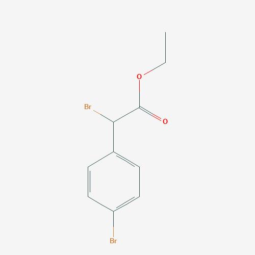 Ethyl para bromo phenyl alpha bromo acetate - 77143-76-1 - alpha,4-Dibromophenylacetic acid ethyl ester - C10H10Br2O2