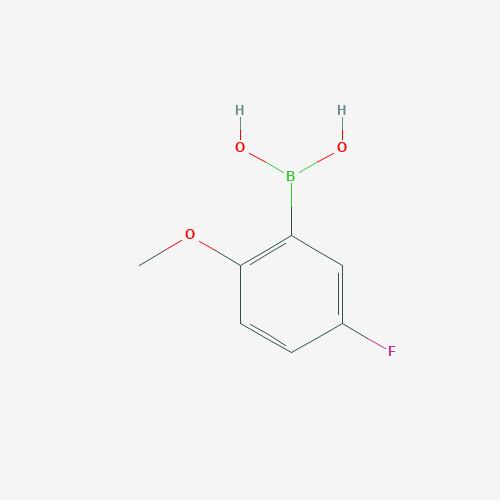 2-Methoxy-5-fluoro benzene boronic acid - 179897-94-0 - 5-Fluoro-2-methoxyphenylboronic acid - C7H8BFO3