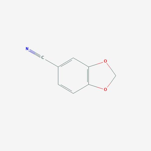 Piperanylonitrile - 4421-09-4 - 1,3-Benzodioxole-5-carbonitrile - C8H5NO2